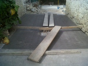 Concreto Cepillado