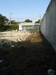 Terreno Antes de la Construcción