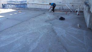 Calcreto en techos