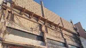 Muros en Fachada