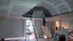 Plafond de Tablaroca con Domo