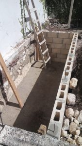 Construcción de Cisterna