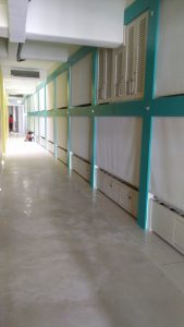 Hostel Piso Concreto Pulido